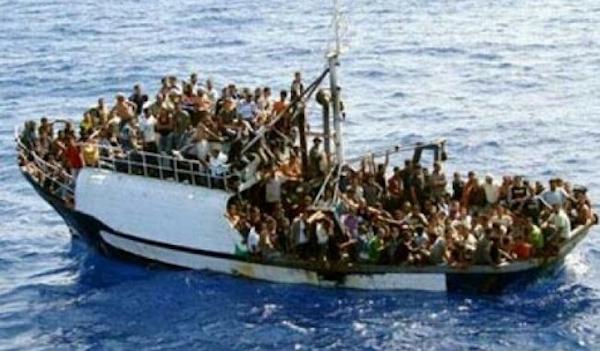 Là, nel mare tra l'Africa e l'Italia…