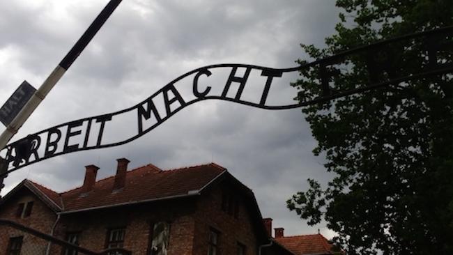 Oggi sono stata ad Auschwitz
