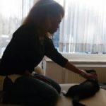 Sama ha riabbracciato il suo gattino migrante
