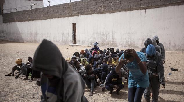 migranti carcere libia