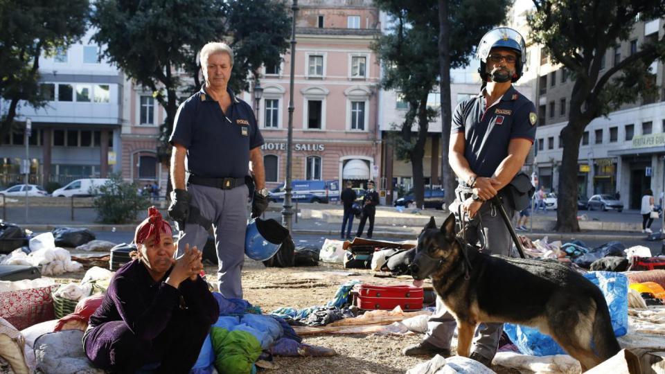 sgombero roma 3
