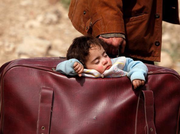 bambino siria ghouta siria