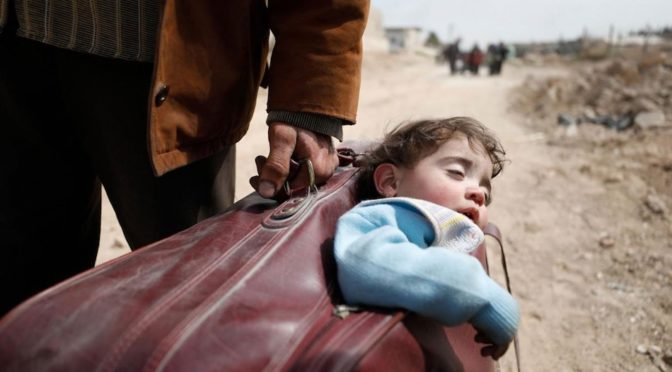 Le foto dei bambini siriani e l'indignazione a rate