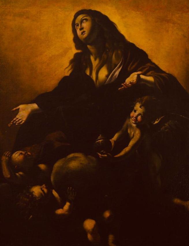 maria maddalena in gloria