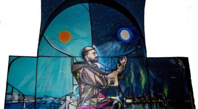 A Taranto apre il museo Sant'Egidio con il murales sull'Ilva